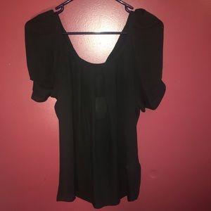 Joie Black 100% silk top