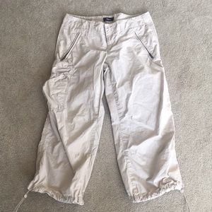 Khaki capris from Express. Size 4