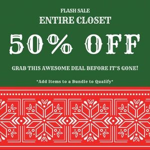 Other - 🎄FLASH 50% OFF SALE🎄