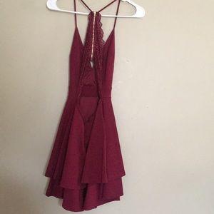 8b92cdc170c Windsor Dresses - BURGUNDY LATE NIGHT FANTASY DRESS