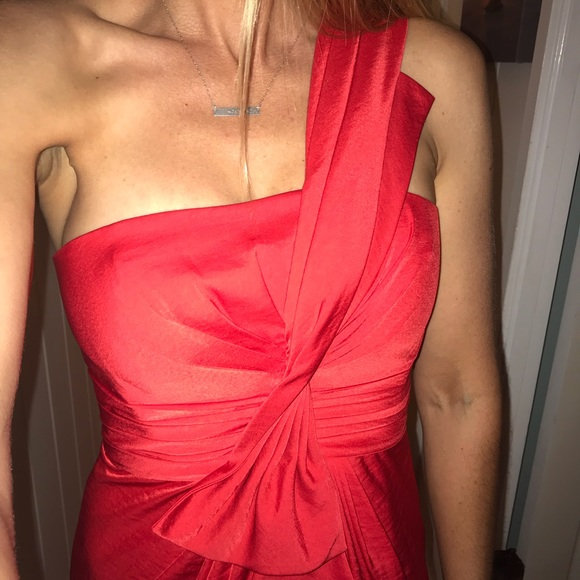 960f108d2cdf BCBGMaxAzria Dresses | Red Cocktail Dress Semi Formal Size 2 | Poshmark