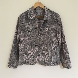 Beautiful paisley embroidered jacket
