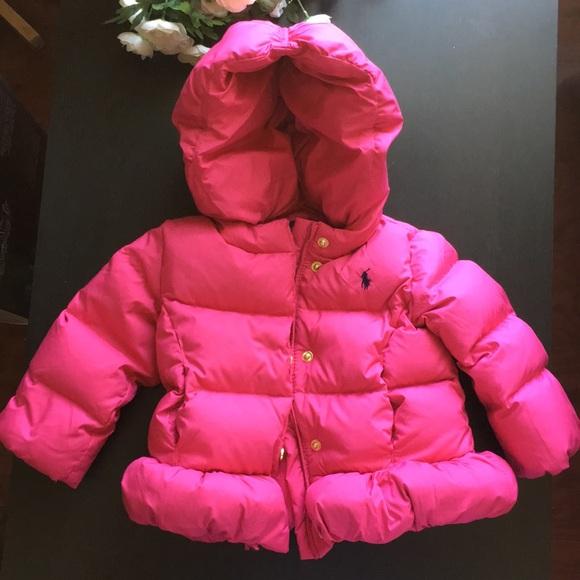 Ralph Lauren Baby Girl Down Jacket 18 Month