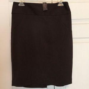 STUDIO 400 The LIMITED Dark Brown skirt
