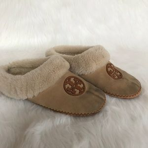 a06378c4e78 Tory Burch Shoes - Tory Burch Coley Genuine Shearling Slippers