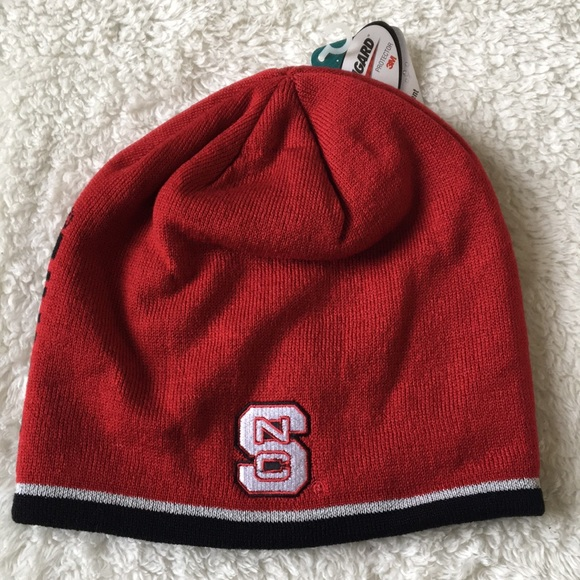 47e27db9c0577c adidas Accessories | Nc State Wolfpack Skull Cap Beanie Hat New ...