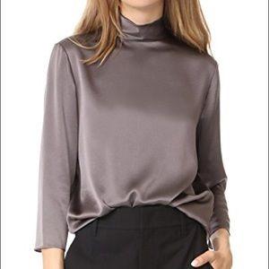 65f18d6b8264dd Vince Tops - Vince 100% silk mock-neck blouse