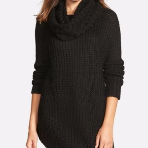 Dreamers by Debut Cowl Neck chunky Sweater S