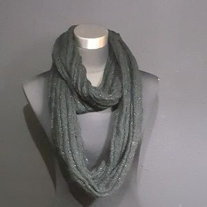 Accessories - Unbranded Black Crochet Infinity Scarf