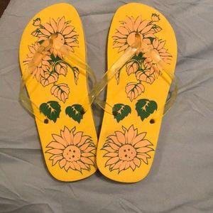 ea3f063c7 Shoes - Sunflower flip flops