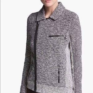 NEW Rag & Bone Hart Moto Sweater Jacket