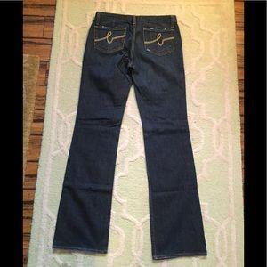 bebe jeans size 31 inseam 35 EUC