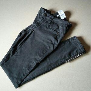 Jessica Stam RACHEL Rachel Roy Skinny Ankle Jeans