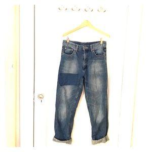 Cheap Monday high waist boyfriend jeans