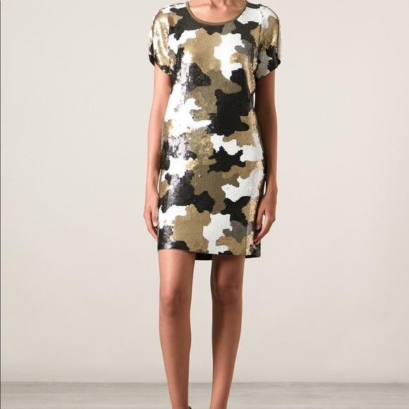 1c2b747b Michael Kors Dresses   Camo Sequin Dress   Poshmark