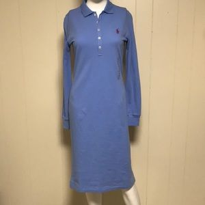 Ralph Lauren Sport polo dress cabana blue