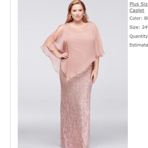 David\'s Bridal Dresses | Plus Size Prom Dress From Davids Bridal ...