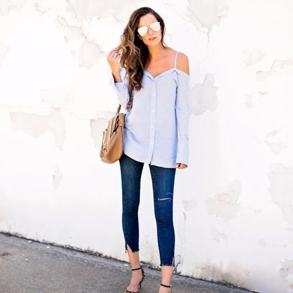 Wit & Wisdom Denim - Wit & Wisdom twisted seam ankle skimmer jeans