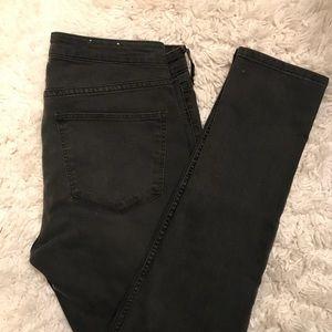 NEW H&M Skinny Ankle Jeans Regular Waist Sz 32