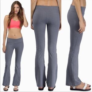 Tobi Grey Yoga Pants