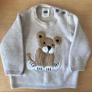 76b509dc Zara Shirts & Tops   Baby Lion Sweater   Poshmark