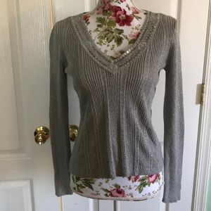New York & Company Sequined Sweater