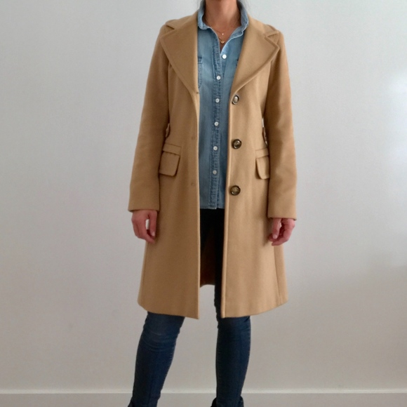 best loved reputable site high fashion Max & Co. Jackets & Coats | Max Co Wool Coat In Camel Size 0 Like ...