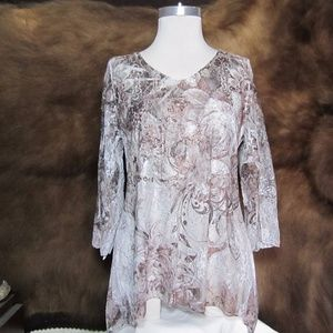 Ladies Sculley Western Wear Blouse