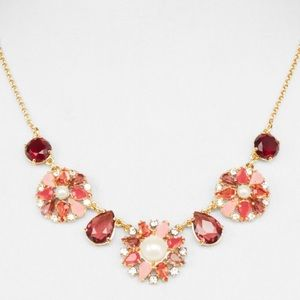 NWT Kate Spade Floral Statement Necklace