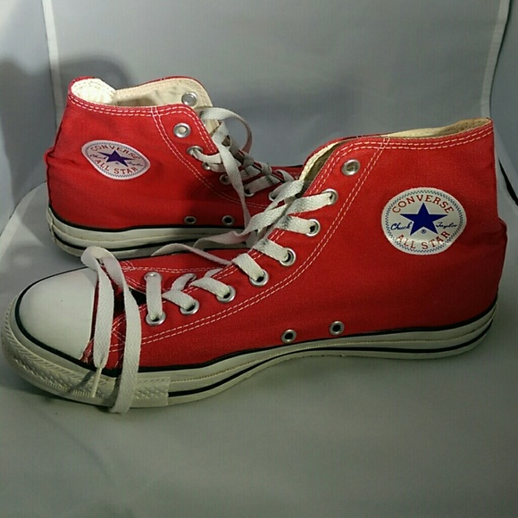 b9219eb62b554a Converse Other - Converse All Star Red Mens Size 9.5 Repair Needed