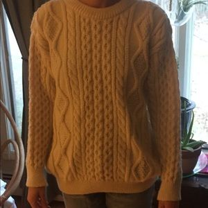 Sweaters - Hand Knit Wool Sweater