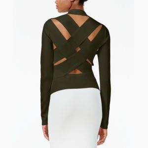 NEW Lattice-Back Sweater