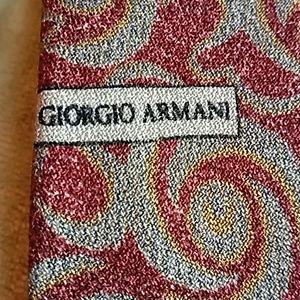 GIORGIO ARMANI CRAVATTE TIES ITALY