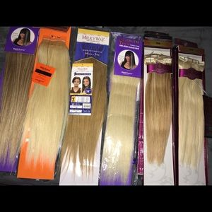 Other - 14 Inches Human Hair clips!!