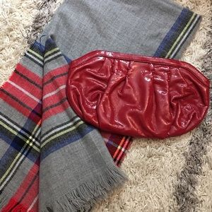 GAP Red Clutch Bag