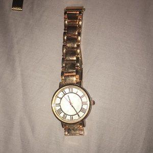 Rosegold watch