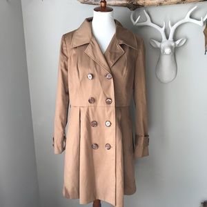 Halogen Rain Trench Coat