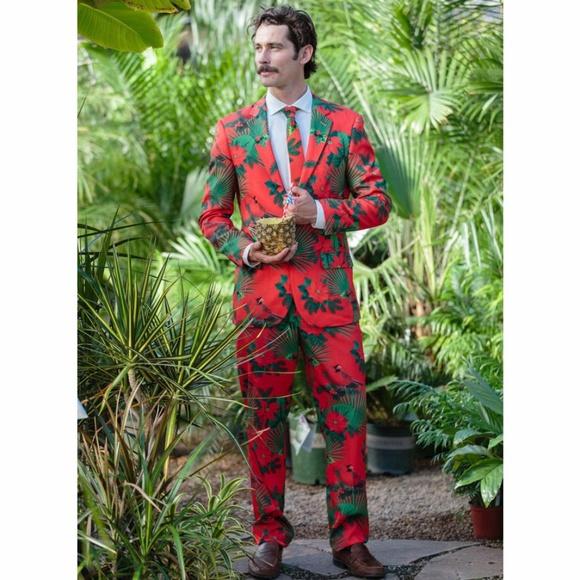 Shinesty Christmas Suits.Shinesty Hawaiian Cardinal Suit