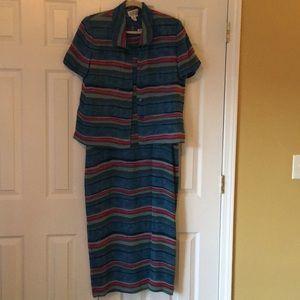 Dresses & Skirts - Adriana Papell dress set
