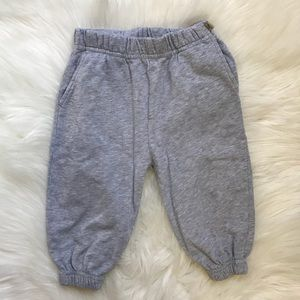 Gray Baby Jogger Sweatpants 18 Months
