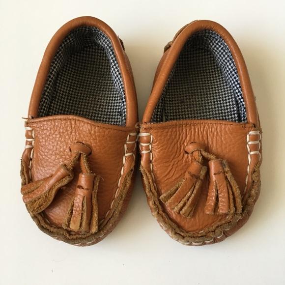218 Months Little Monkey Loafers Tan