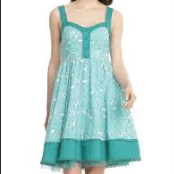 Dresses | Disney The Little Mermaid Retro Tank Dress | Poshmark