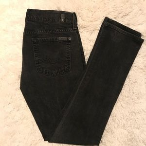 7 For All Mankind Jeans Grey/Black Sz 29
