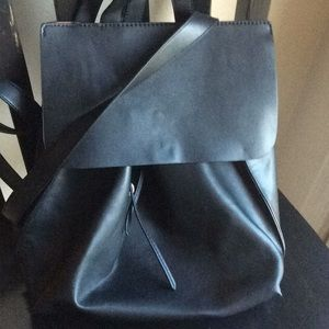 Sole Society Selena backpack black faux leather