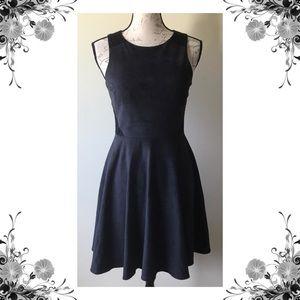 🆕{CeCe by Cynthia Steffe} Black Faux Suede Dress