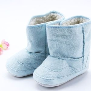 Other - Blue baby crib-shoe boots size 3