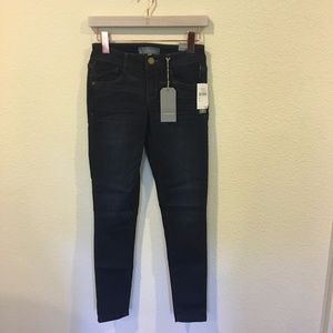NWT Wit & Wisdom dark navy jegging
