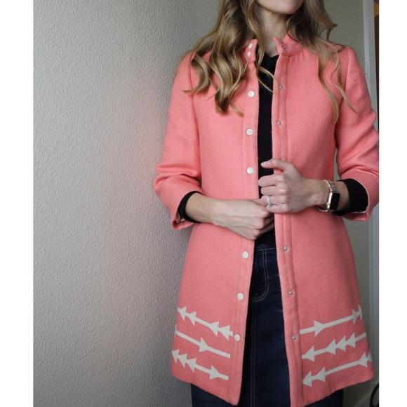 Anthropologie Jackets & Blazers - Anthropologie Lauren Moffatt Eastward Arrow Coat