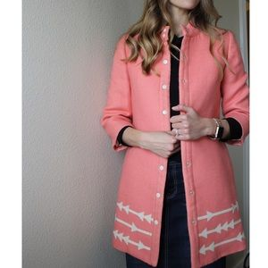 Anthropologie Lauren Moffatt Eastward Arrow Coat