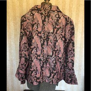 Avenue Jackets & Coats - Plus size Avenue tapestry patterned jacket.